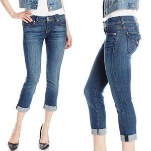 Hudson Ginny Straight-Leg Crop Denim Jean